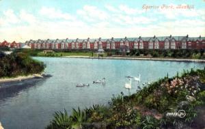 Egerton Park Lake, Bexhill c1905