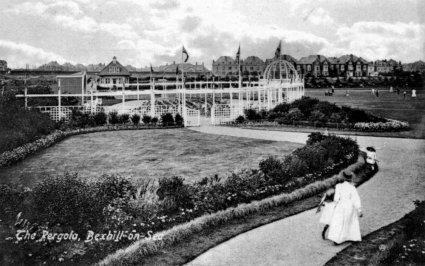 Egerton Park Pergola, Bexhill c1906