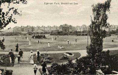Egerton Park, postcard c1910