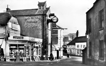 Jubilee Clock, Old Town, Bexhill c1960