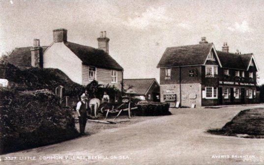 The Forge, Forge House & Wheatsheaf (LC) c1927