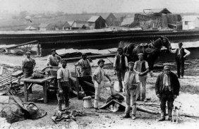 Adams Brickyard, Sidley c1890