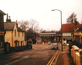 BEL-009 - Down Arch bridge from Belle Hill, Bexhill 1964