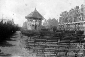 Bandstand, East Parade c1898
