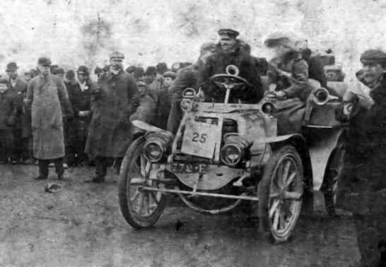 C.S. Rolls 24 HP Mors, Bexhill Races 1902
