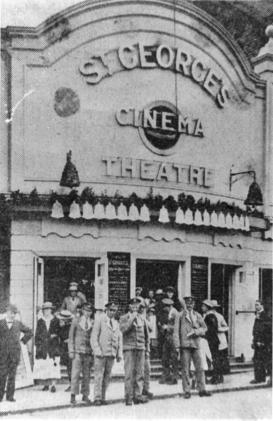 CIN-006 - St Georges Cinema c1918
