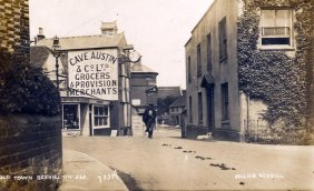 BOT-031 - Cave Austins, Bexhill Old Town c1912
