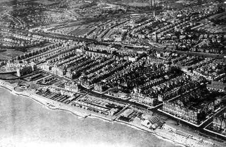 Central & East Parade, Bexhill c1933