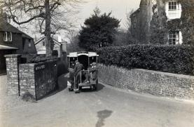 Chantry Lane, High Street -.1925 (Emil Vieler).