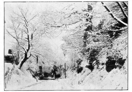 Chantry Lane - Winter-.1910