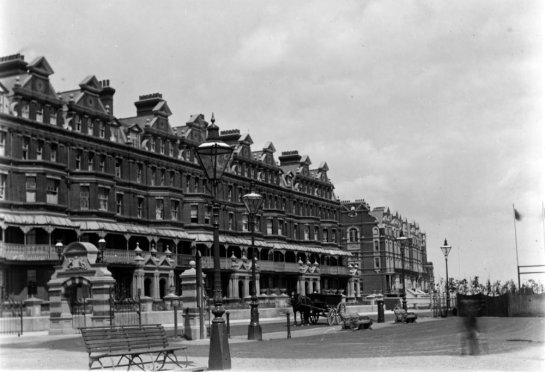 East Parade & DLW Gates c1900