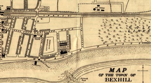 East Parade Streetmap 1896