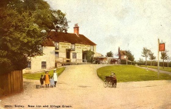 New Inn, Sidley c1910