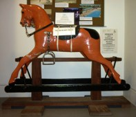 MUS-033 - Rocking horse in Bexhill Museum
