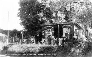 SHO-023 - Ramblers Refreshment Hut, White Hill Tea Garden, Bexhill c1935