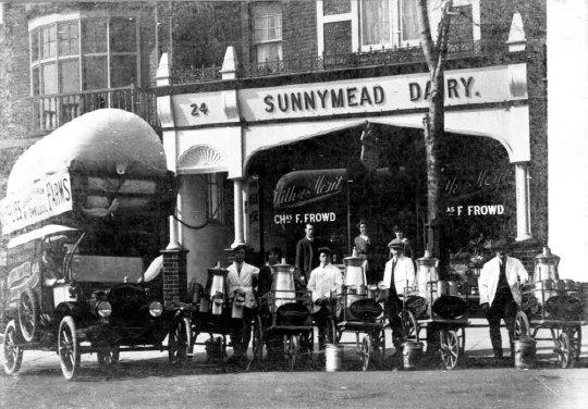 SHO-024 - Sunnymead Dairy, 24 Sea Road c1920
