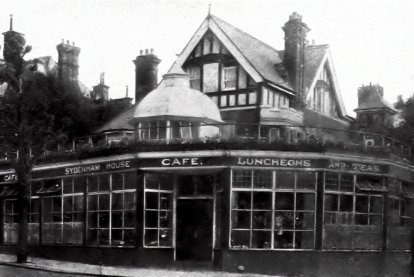 SHO-025 - Sydenham House Cafe Forces Corner