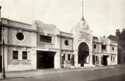 SHO-026 - Western Road Garage, Bexhill 1930