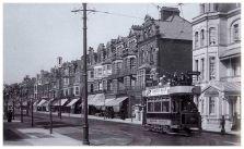 Tram in Devonshire Road c1908