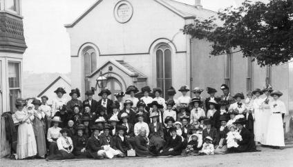 Belle Hill Wesleyan Methodist Chapel, c1905