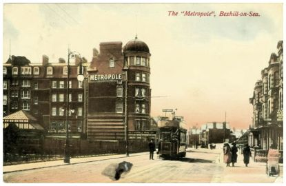 HOT-009 - Metropole Hotel and Marina, Bexhill - c1910