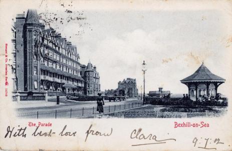 HOT-019 - Sackville Hotel, de La Warr Parade, Bexhill - 9-7-1902