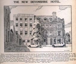 HOT-026 - Devonshire Hotel - 1929