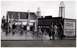 KUR-032 - The dodgems at the Kursaal, c1933