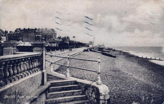 BWP-006 - West Parade, Bexhill - c1920
