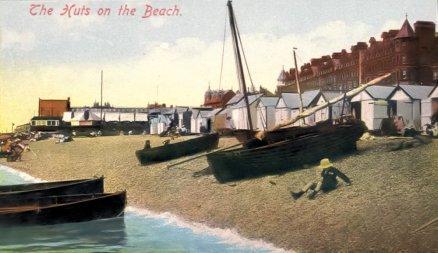 BBE-006 - Bexhill Beach c1913 De La Warr Parade