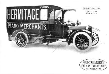 Pianoforte van Hermitage & Sons