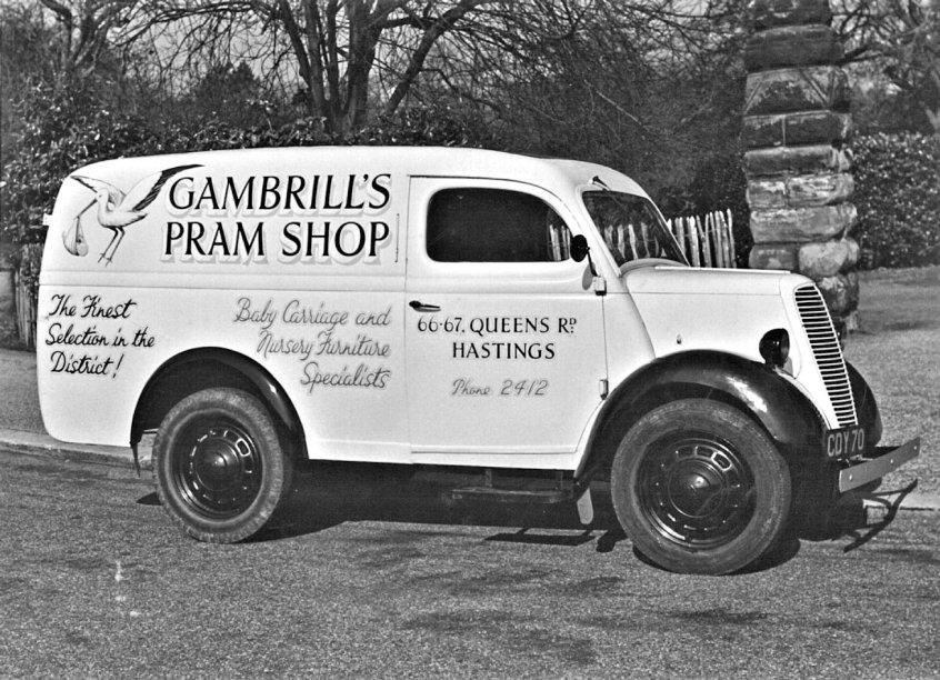 HO-028 - Gambrills van, Reg. No. CDY 70