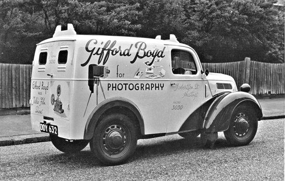 HO-029 - Gifford Boyd van, reg. No. DDY 632