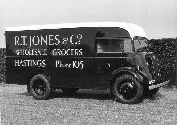 HO-037 - R. T. Jones' lorry