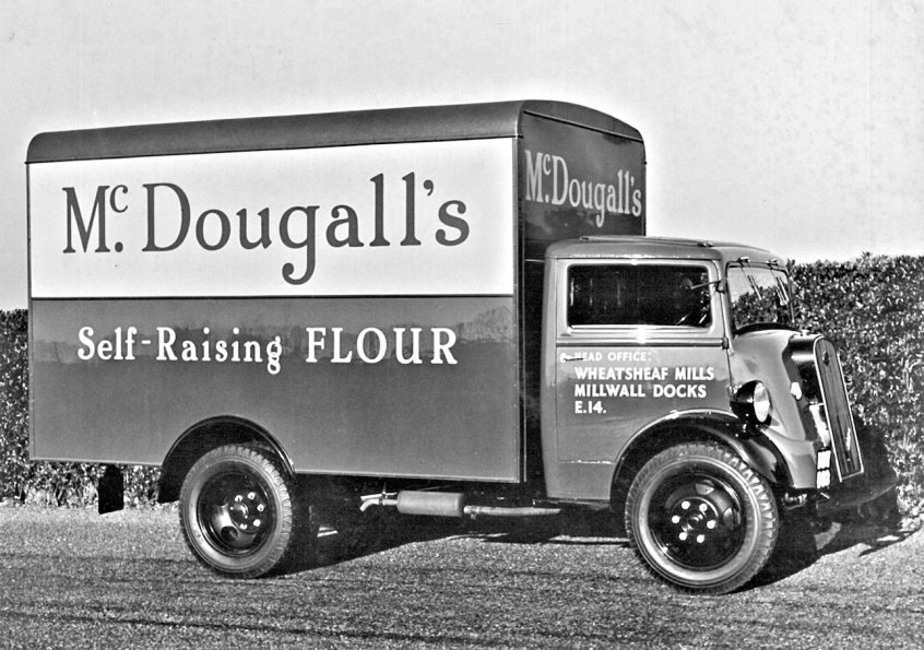 HO-044 - McDougall's lorry