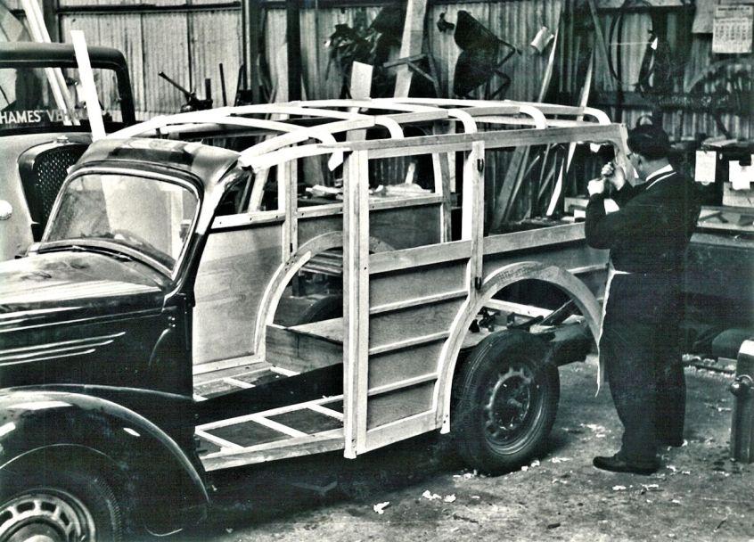 HO-048 - Shooting brake conversion in workshop
