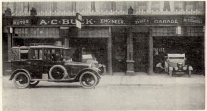 SR27-003 - Buck's Garage, Sackville Road c1922