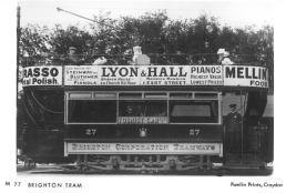 27 open top d-d tram side view