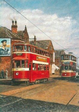 501 exLT2099 MET 355 1st Feltham in Leeds 20-9-1949