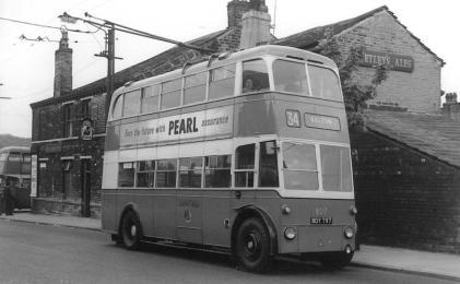 807 BDY797 serv 34 to Bolton 28-5-1961