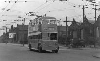 815 BDY815 service 89 to city centre @ Thornbury 29-8-1959