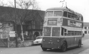 85 BDY807 to Barming serv passing Carriage Mus