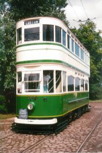 Blackpool 159 built 1927, seen 1988