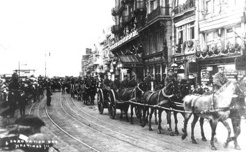 Coronation parade White Rock