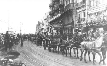 Coronation parade seafront