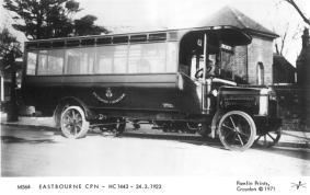 HC1443 Leyland s-d bus 24-3-1923