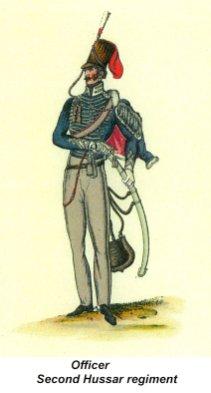 Officer - Second Hussar Regiment - 02