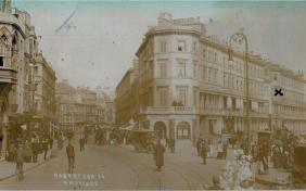 Robertson St-Carlisle Parade pc 27-4-1909