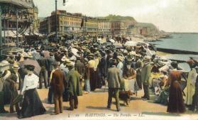 White Rock-Carlisle Parades looking east tinted pc 7-1906