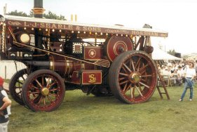 HR6658 Burrell showman's engine Searle & Sons, nearside view